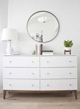 Painted mid century modern furniture 12