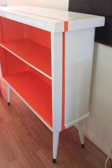 Painted mid century modern furniture 35