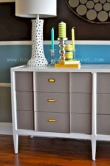 Painted mid century modern furniture 49