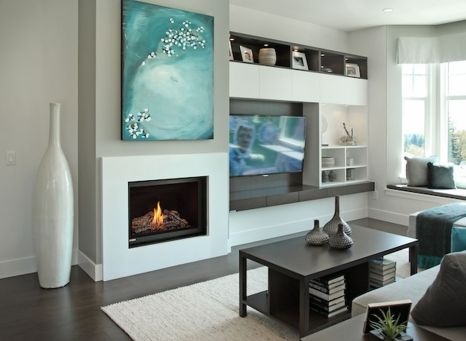 Simple living room design ideas with tv 01