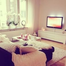 Simple living room design ideas with tv 23
