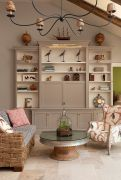 Simple living room design ideas with tv 53
