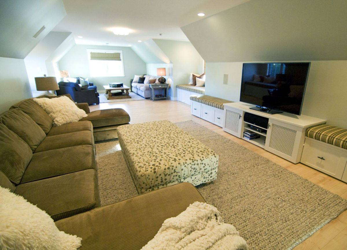 61 Simple Living Room Design Ideas With Tv
