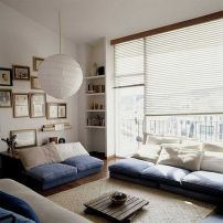 Simple and comfortable living room ideas 15