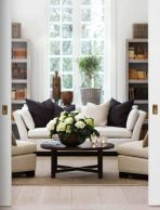 Simple and comfortable living room ideas 45