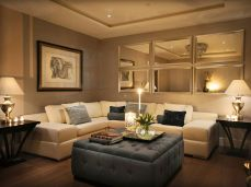 Simple and comfortable living room ideas 56