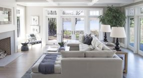 Simple and comfortable living room ideas 58