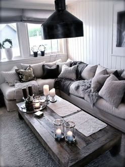 Simple and comfortable living room ideas 70