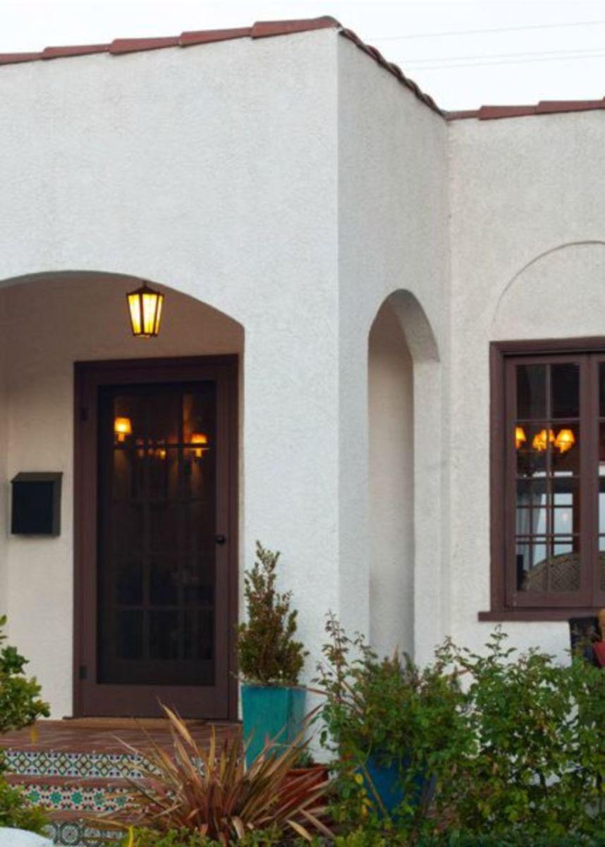 Spanish style exterior paint colors 25