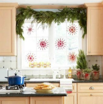 Stunning christmas decorating ideas for the kitchen 31