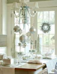 Stunning christmas decorating ideas for the kitchen 41
