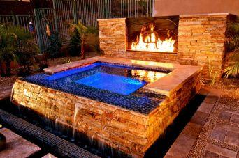 Stunning garden design ideas with stones 10