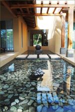 Stunning garden design ideas with stones 19