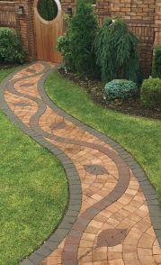 Stunning garden design ideas with stones 34