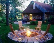 Stunning garden design ideas with stones 45