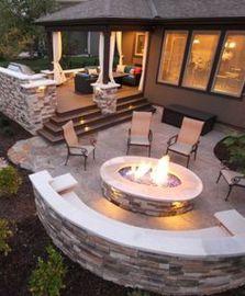 Stunning garden design ideas with stones 46