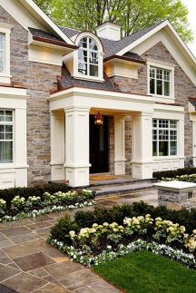 Stunning garden design ideas with stones 51