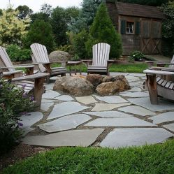 Stunning garden design ideas with stones 53