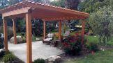 Stunning garden pergola ideas with roof 17