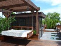 Stunning garden pergola ideas with roof 27