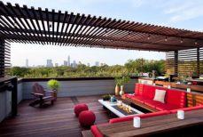 Stunning garden pergola ideas with roof 30
