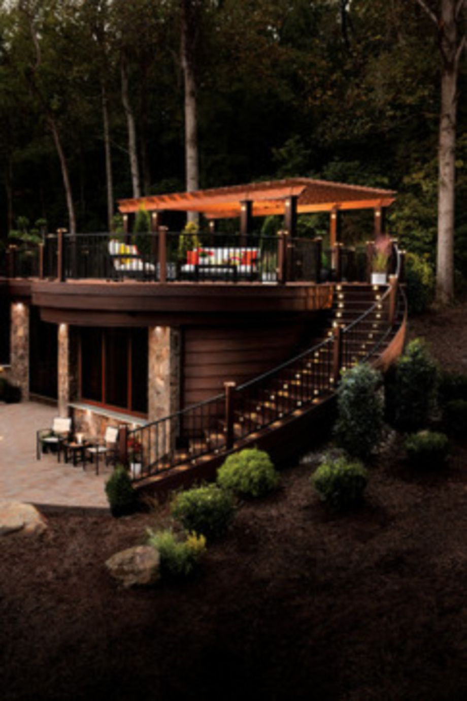 Stunning garden pergola ideas with roof 36