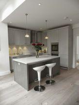 Stunning grey wash kitchen cabinets ideas 11