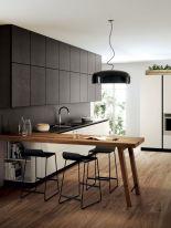 Stunning grey wash kitchen cabinets ideas 40