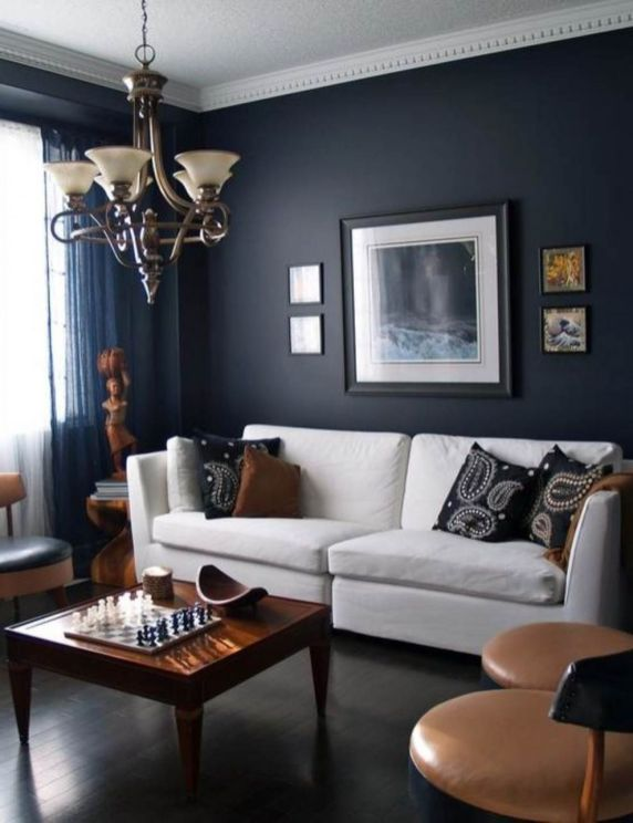 Brown And Black Living Room Designs: 76 Stunning Red Brown And Black Living Room Design Ideas