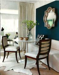 Stylish dark green walls in living room design ideas 11