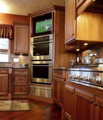 Stylish kitchen designs ideas with corner sinks 06
