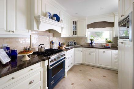Stylish kitchen designs ideas with corner sinks 08