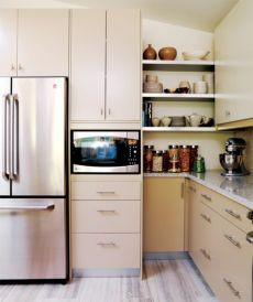 Stylish kitchen designs ideas with corner sinks 22