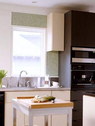 Stylish kitchen designs ideas with corner sinks 32