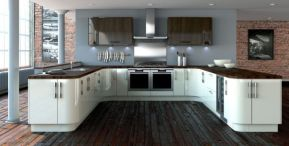 Stylish kitchen designs ideas with corner sinks 35