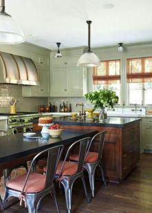 Stylish kitchen designs ideas with corner sinks 39