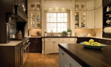 Stylish kitchen designs ideas with corner sinks 41