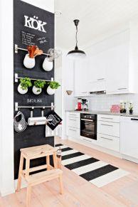 Stylish kitchen designs ideas with corner sinks 46