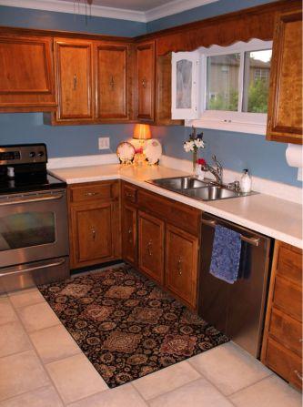 Stylish kitchen designs ideas with corner sinks 55
