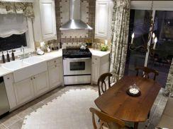Stylish kitchen designs ideas with corner sinks 62