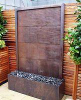 Stylish outdoor garden water fountains ideas 35