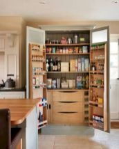 Amazing stand alone kitchen pantry design ideas (13)