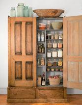 Amazing stand alone kitchen pantry design ideas (14)