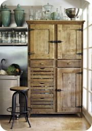 Amazing stand alone kitchen pantry design ideas (4)