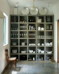 Amazing stand alone kitchen pantry design ideas (40)