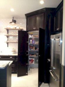 Amazing stand alone kitchen pantry design ideas (53)
