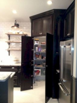 Amazing stand alone kitchen pantry design ideas (53)