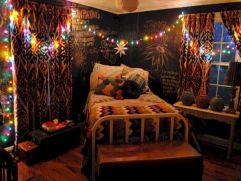 Cozy bohemian teenage girls bedroom ideas (1)