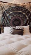 Cozy bohemian teenage girls bedroom ideas (2)
