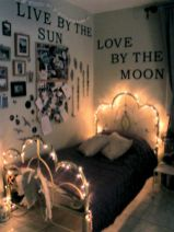 Cozy bohemian teenage girls bedroom ideas (20)
